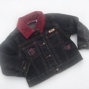 Levi's 18 months black denim jacket